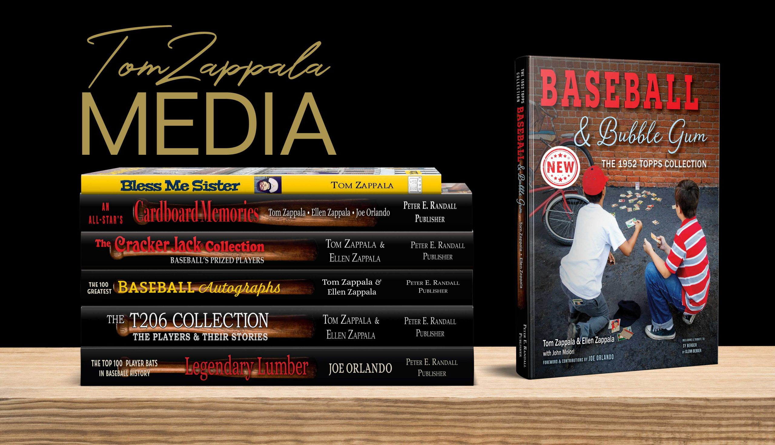 Tom Zappala Media - Award Winning Baseball Books